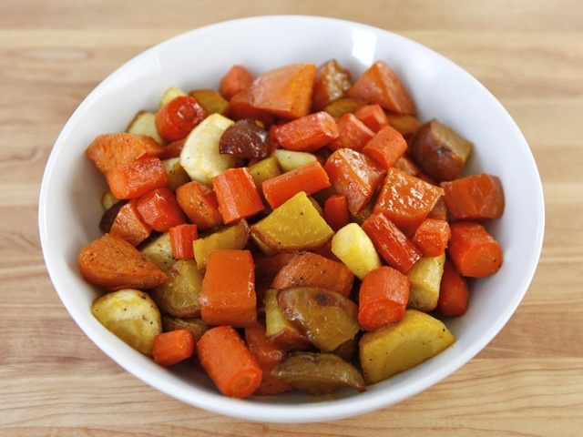 Citrus Honey Glazed Vegetables | Recipe