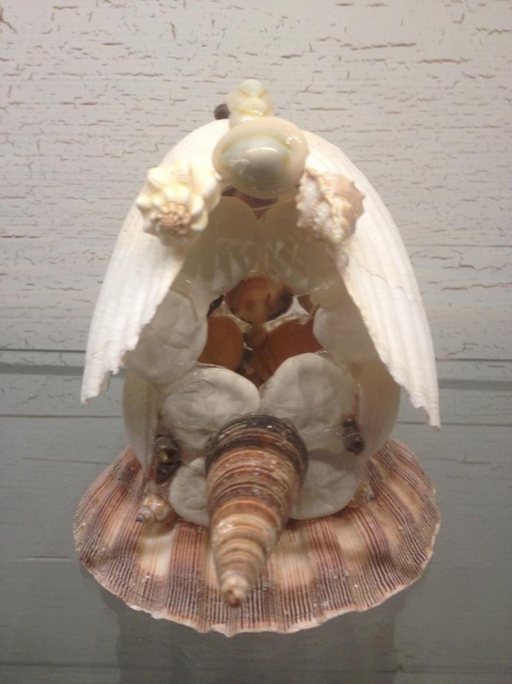 sea shell birdhouse!