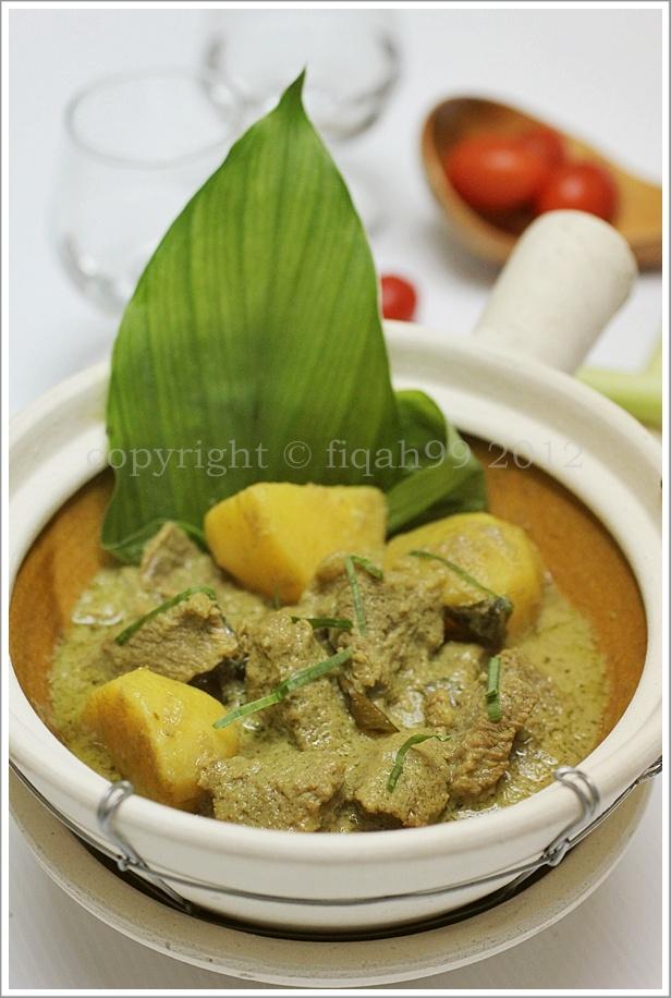 My Little Kitchen: Gulai Daging Gaya Pahang