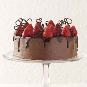 Strawberry-Chocolate Celebration Cake Recipes — Dishmaps