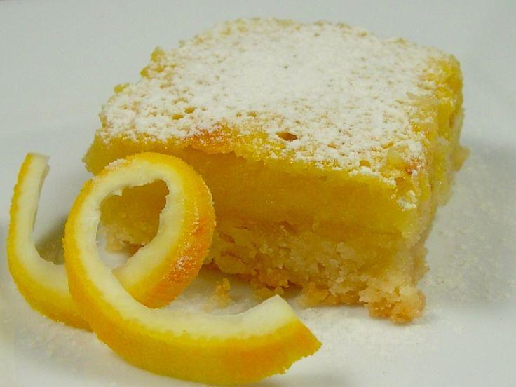 lemon squares | Food | Pinterest