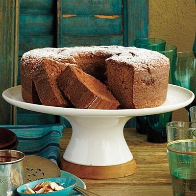 Mexican Chocolate Pound Cake Semisweet chocolate and cinnamon ...