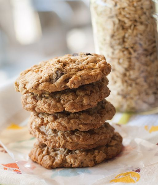 Oatmeal Chocolate Chip Cookies | Gluten Free | Pinterest