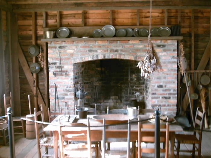 The kitchen at the Lexington County Museum, along with several other outbuildings, was originally located in Batesburg, SC and was owned by Joel Ridgell (my great-great-great-great grandfather), who was the brother-in-law of John Fox.