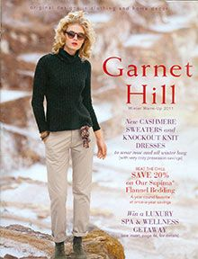 Garnet hill catalog contemporary women s clothing and jewelry from