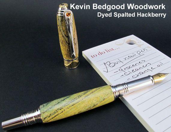... to Fountain Pen Abalone (Paua) Shell custom writing pen on Etsy