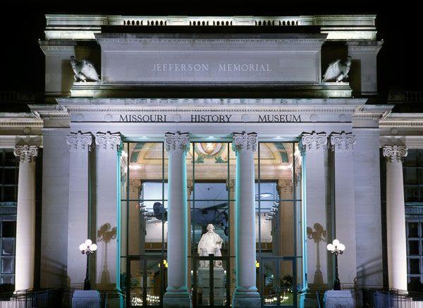 Missouri History Museum, St. Louis  AKA the Jefferson Memorial