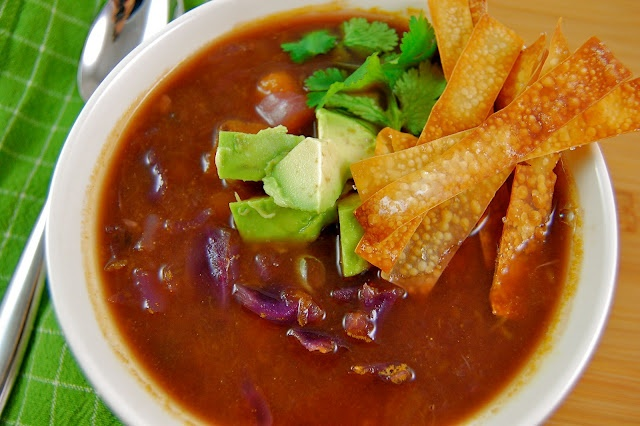 Butternut squash and black bean soup | Food / soups | Pinterest