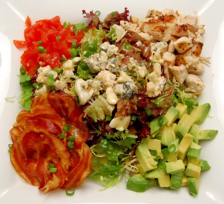 chicken cobb salad | Salad | Pinterest