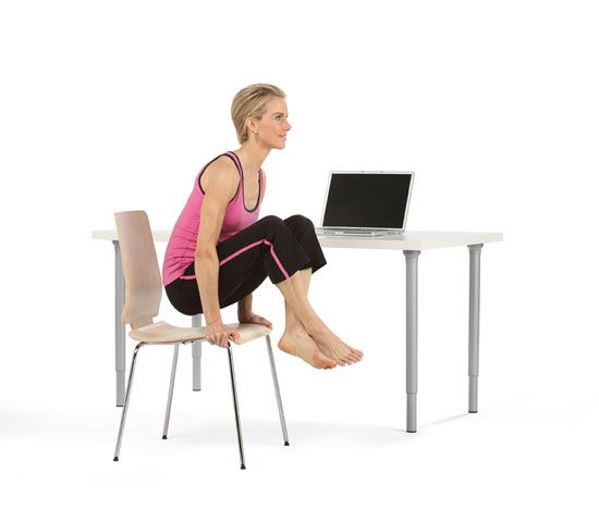 Office Exercise Yoga At Your Desk