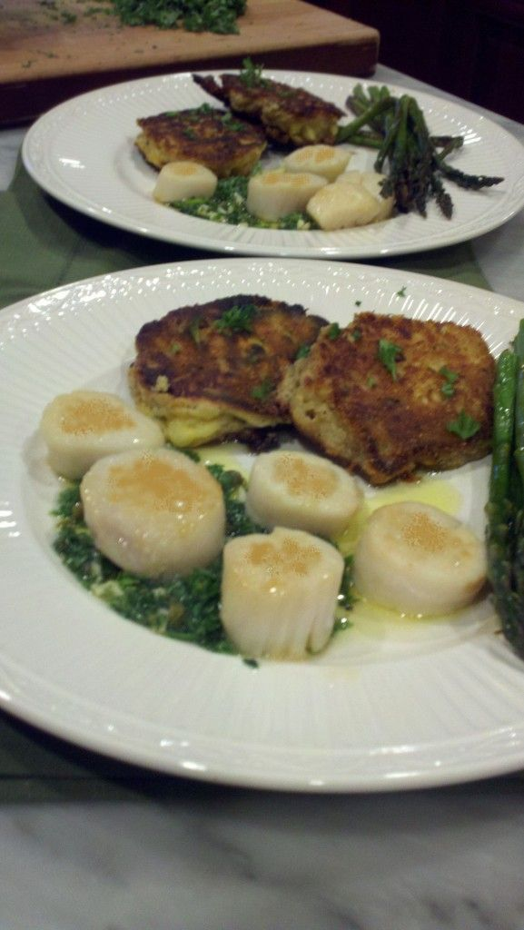 ... seared scallops with lemon and vodka pan seared scallops with