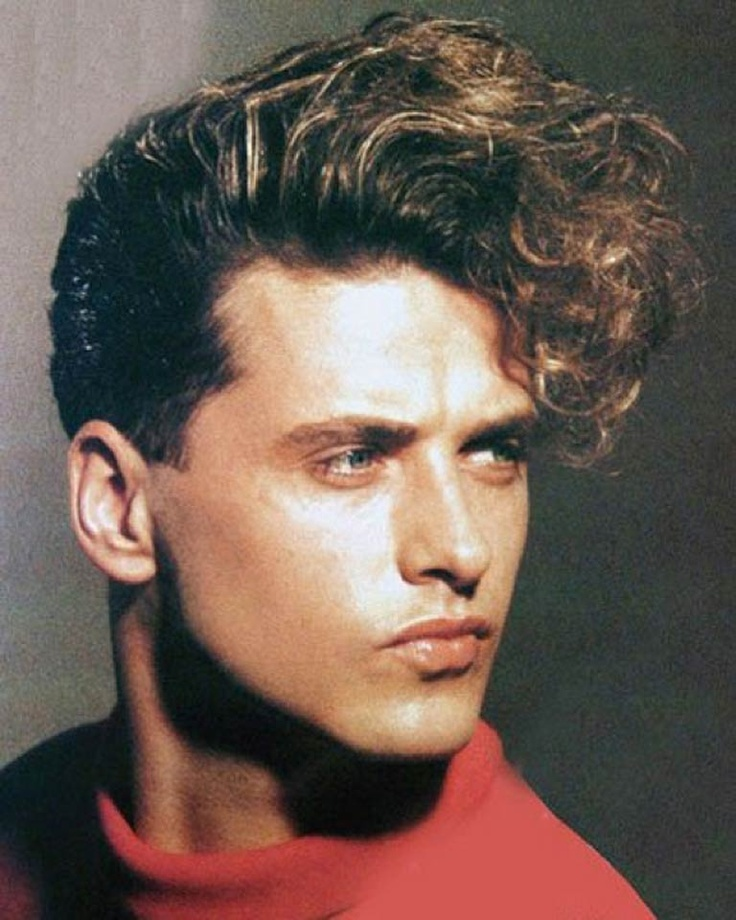 Прически в стиле 80 х годов мужчины