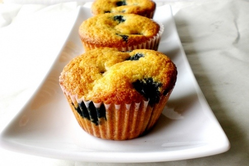 Blueberry cornmeal muffins | Food...My Current Obsession | Pinterest