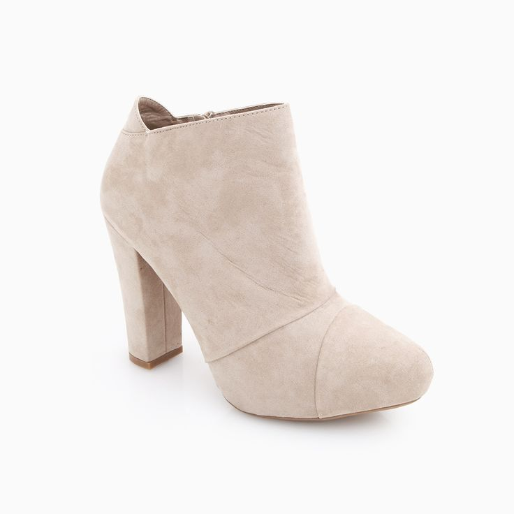 Nude Ankle Booties
