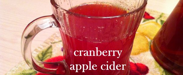 Recipe: Spiked & Spiced Hot Cranberry Apple Cider