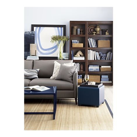 navy blue lacquered coffee table for the home pinterest