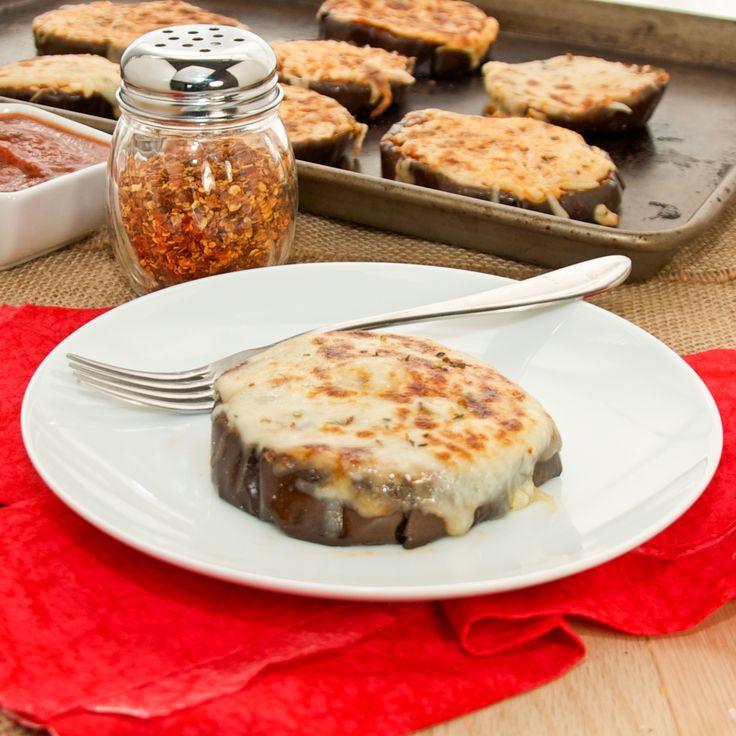 Eggplant Pizzas (Tranches d'aubergine á l'italienne)   Recipe