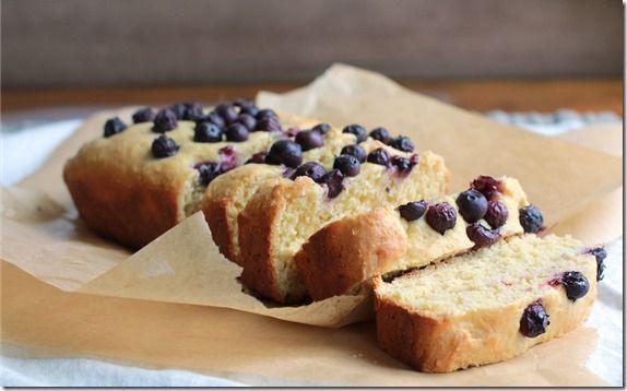 maple blueberry cornbread - Yes, I want cake