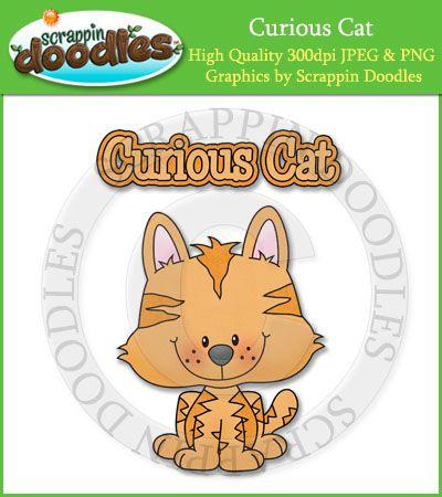 Curious Cat Sin... Curious Cat Clipart