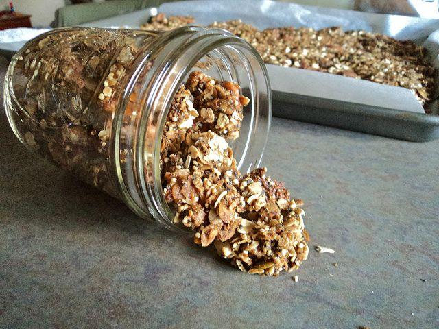 Crunchy Quinoa Granola | Food | Pinterest