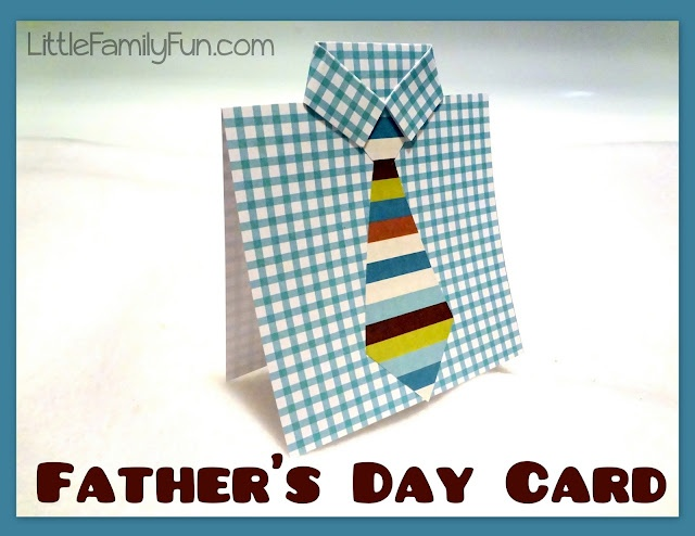 Easy Father's Day Card.