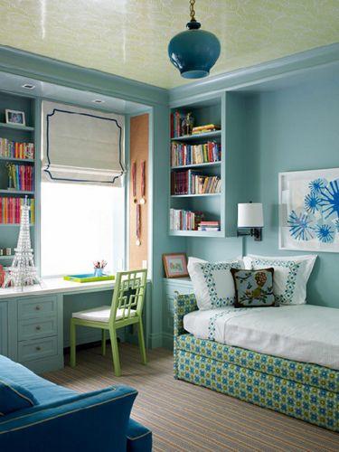 simple clean bedroom