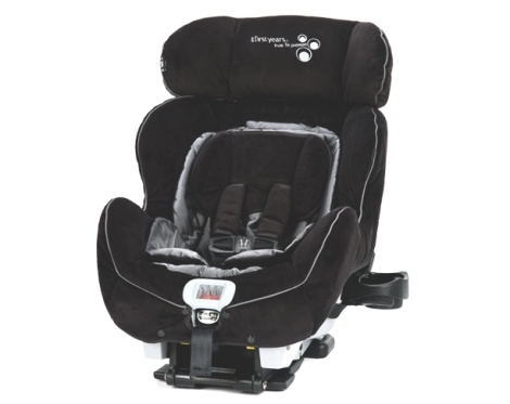 the first years true fit convertible car seat with ialert system monitors the child in the. Black Bedroom Furniture Sets. Home Design Ideas