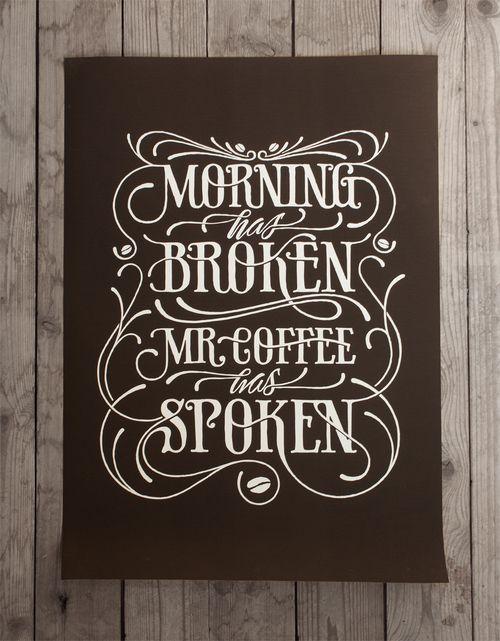 I like - Coffee + Tea