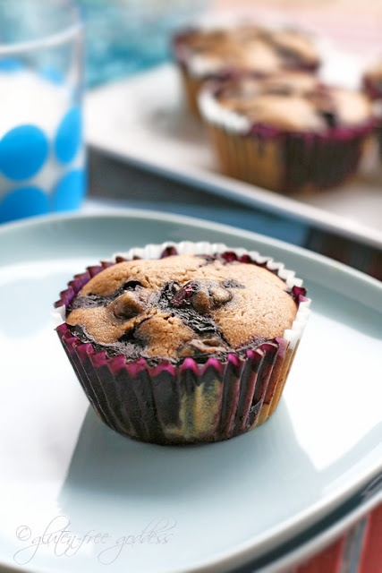 ... Blueberry Muffins with Almond Flour |Gluten-Free Goddess® Recipes