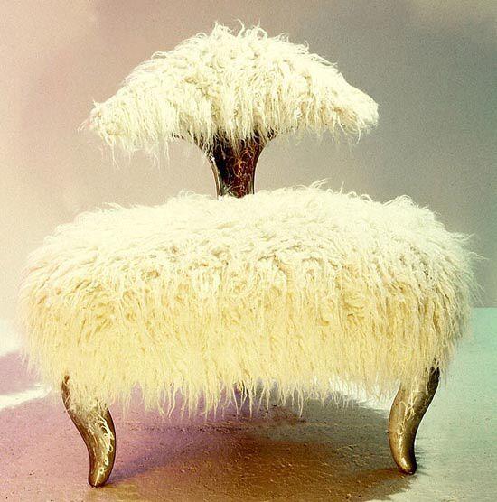Mongolian Fur Chair Chair Pinterest