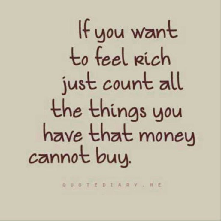 I want to be rich!