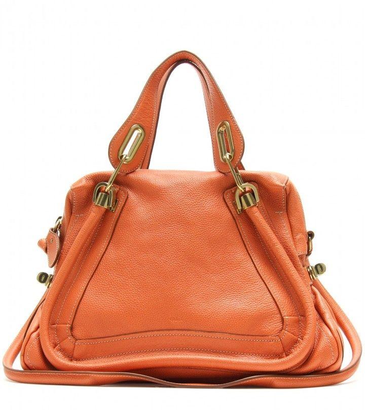Chloé PARATY MEDIUM LEATHER SHOULDER BAG #handbags