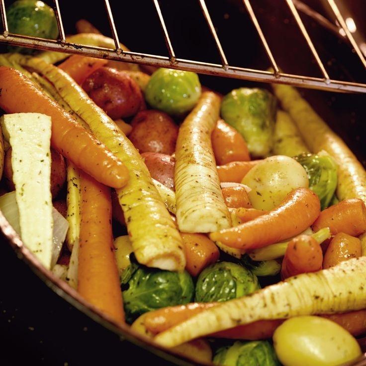 Roasted Root Vegetables | Supper Club | Pinterest