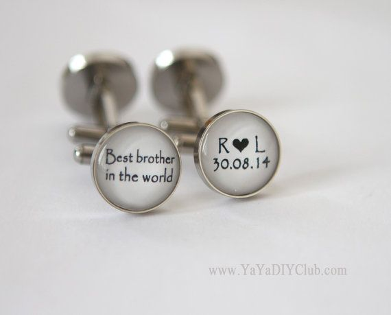 Brother of the bride gift, Best Brother, Wedding gift for brother of ...
