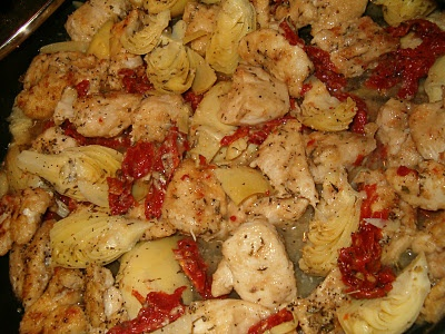 Sun-Dried Tomato Artichoke Chicken | mmmm food | Pinterest