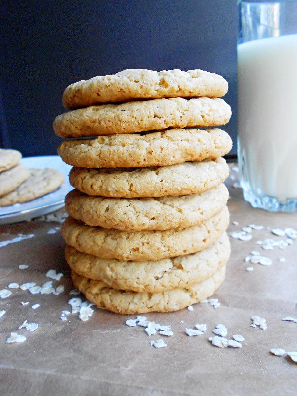 Chewy Coconut Oatmeal Cookies | Coconut Recipes | Pinterest