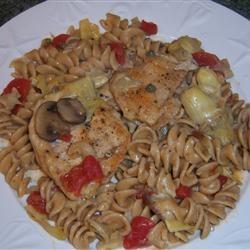 Romantic Chicken with Artichokes and Mushrooms | Recipe