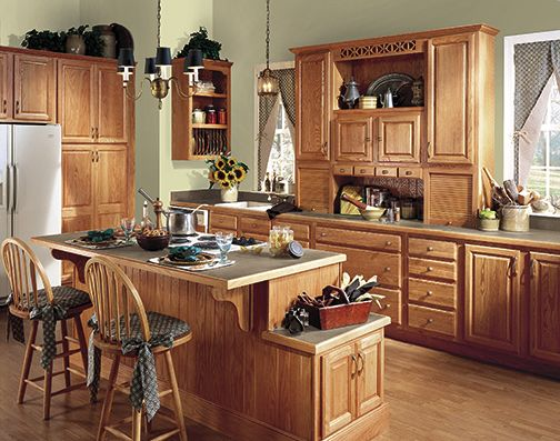 Harvest Square Oak, Light  Kitchen Essentials Islands  Pinterest