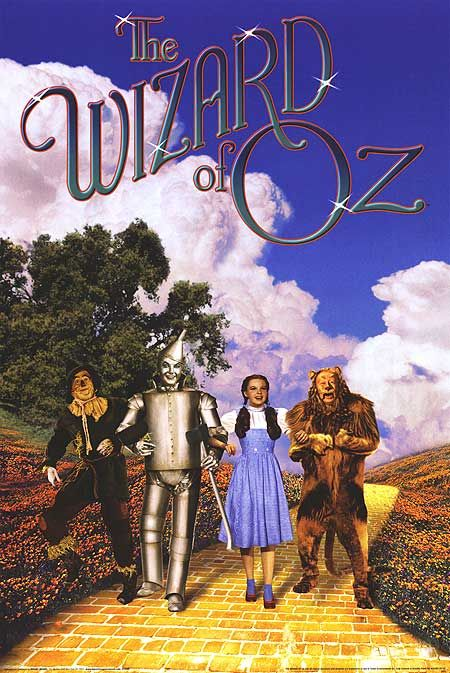 Wizard of Oz...best childhood movie!