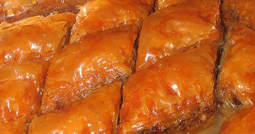 Easy Baklava Recipe | Recipes to try | Pinterest