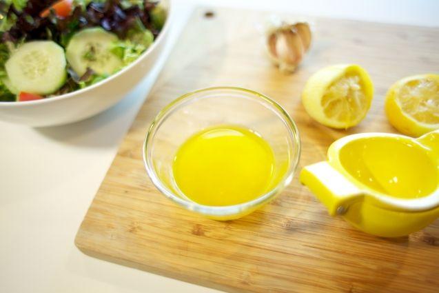 Lemon-Garlic Vinaigrette | Getting fit | Pinterest