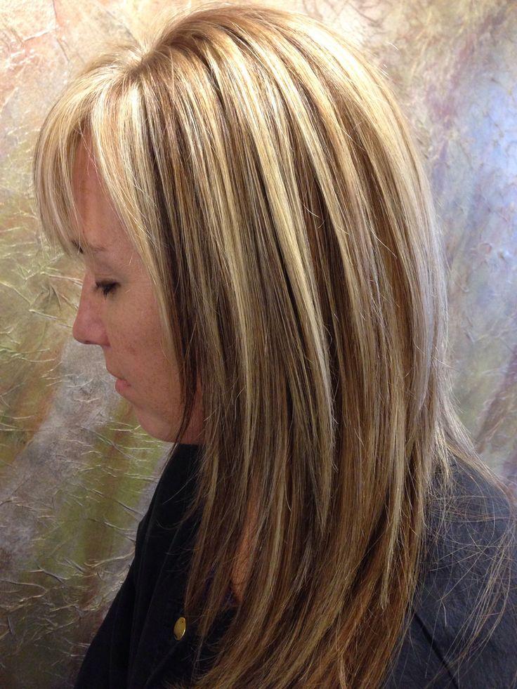 Blonde hair w lowlights | Pretty Hair | Pinterest