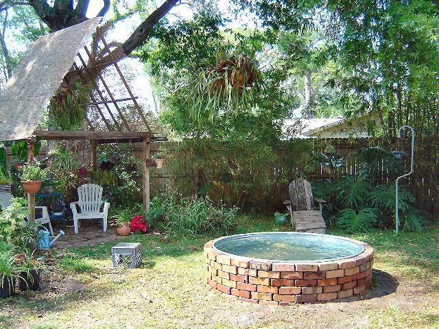 Stock Tank Pond Outdoor Ideas Pinterest