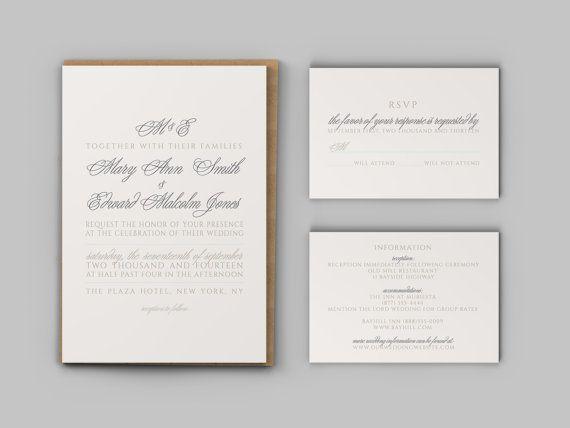 Wedding Invitation Enclosures was very inspiring ideas you may choose for invitation ideas