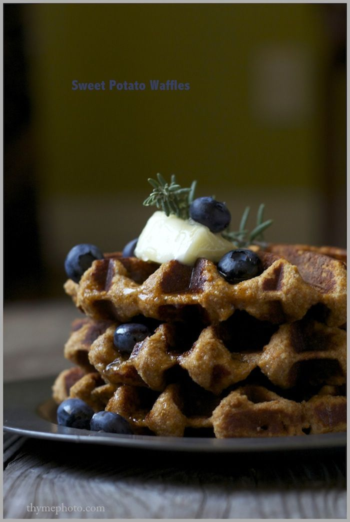 Sweet Potato Waffles | Breakfasts | Pinterest
