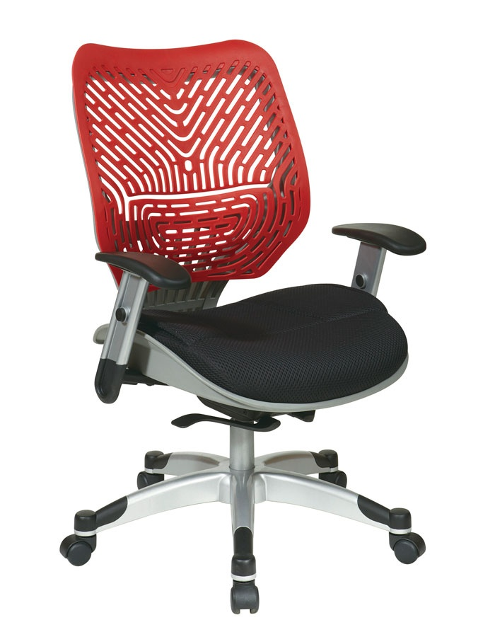 And Raven Mesh Seat Managers Office Chair With Adjustable Arms