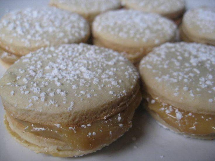 Alfajores: Dulce De Leche Sandwich Cookies via Turntable Kitchen i ...