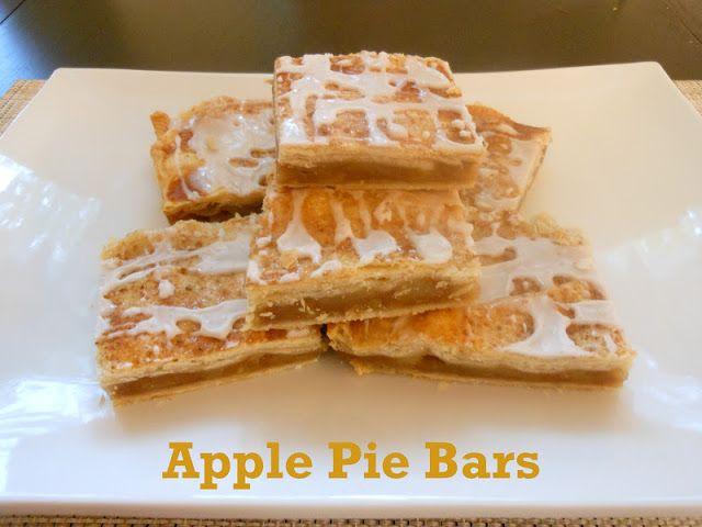 Flavors by Four: Apple Pie Bars | Recipes | Pinterest