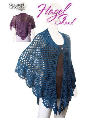 Free Crochet Pattern Batwing Shawl : CROCHET BATWING SHAWL PATTERN Crochet Patterns Only