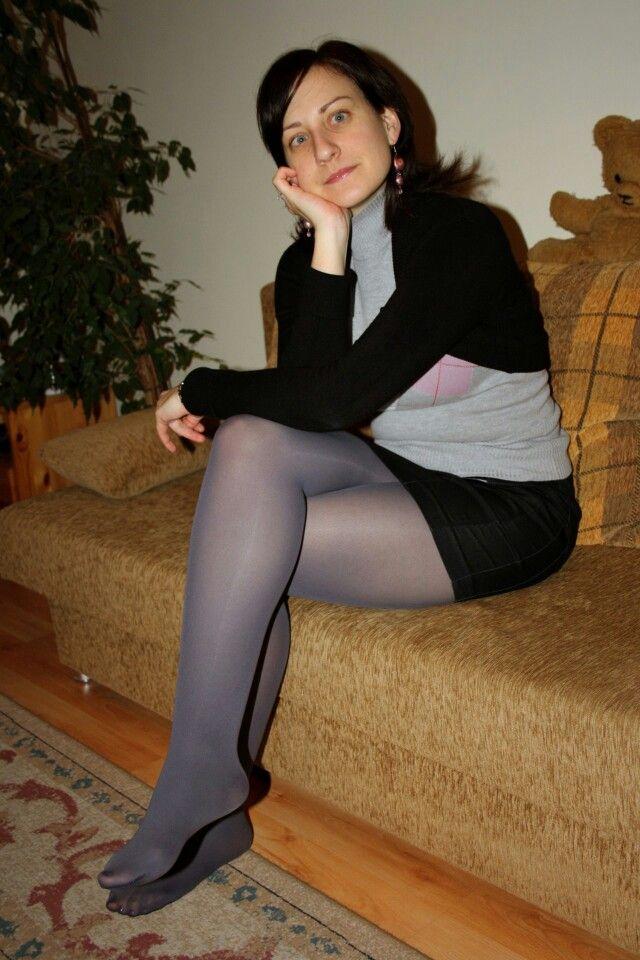 image Opaque stockings foot worship royal mistress